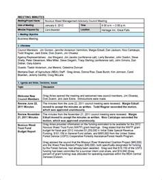meeting minutes templates free free meeting minutes templates 17 free sle exle