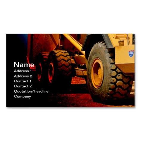 Heavy Duty Business Cards