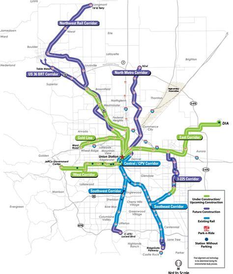 rtd map fastracks 171 denverurbanism
