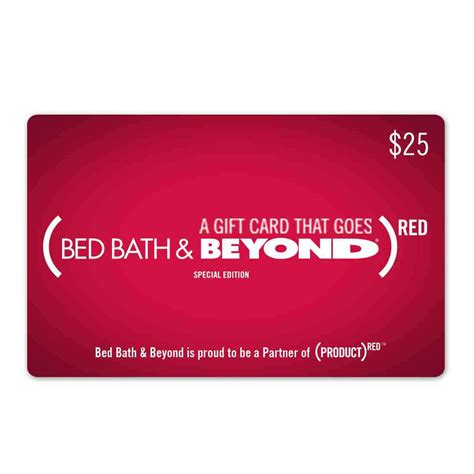 bed bath and beyond gift card value bed bath beyond red gift card musictoday superstore