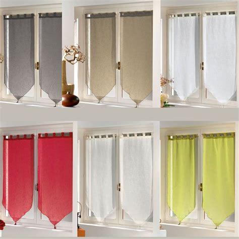voilage pour cuisine paire de rideaux fen 234 tre largeur 45 cm hauteur 160 cm