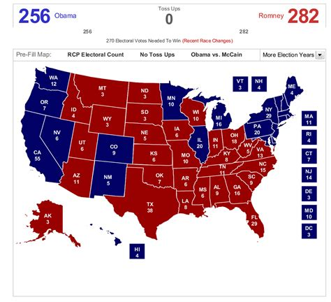 map of us electoral votes election map prediction autos post