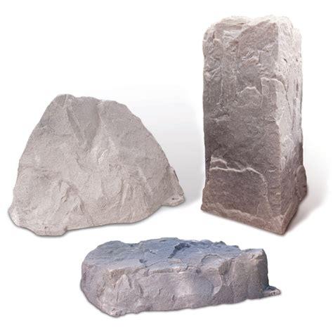 Plastic Garden Rocks Plastic Decorative Landscape Stones Polylok
