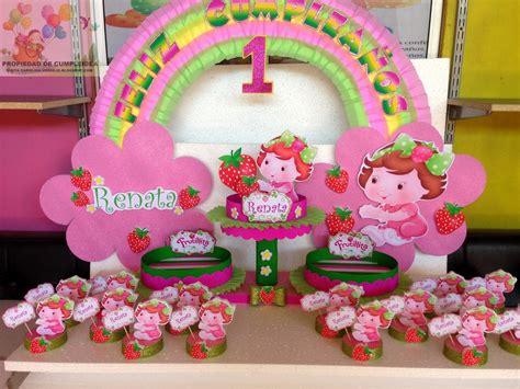decoraciones infantiles frutillita bebe
