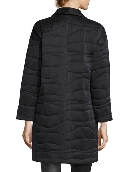 Eileen Fisher Quilted Jacket by Eileen Fisher Fisher Project Quilted Jacket