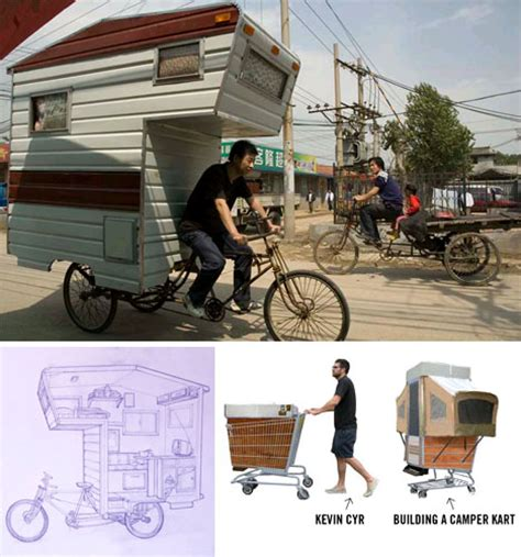 small mobile homes bike trailers shopping cart cers