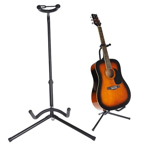 Stand Gitar Neck acoustic electric guitar holder stand folding guitar parts with neck support ebay