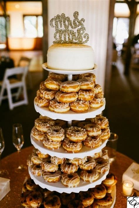 Donut Wedding Cake by Trending 20 Wedding Donuts Display Ideas Page 4