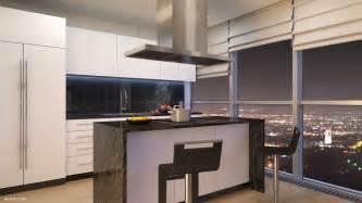 Loft Style Apartment Floor Plans Turkey Penthouse Kitchen Interior Design Ideas
