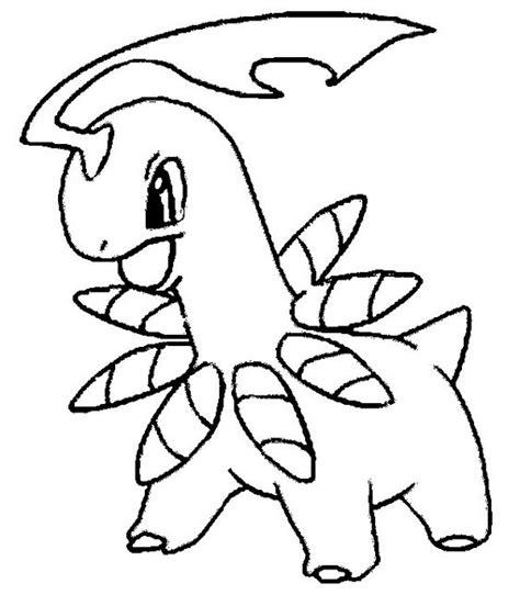 pokemon coloring pages chikorita bayleef chikorita bayleef meganium pinterest