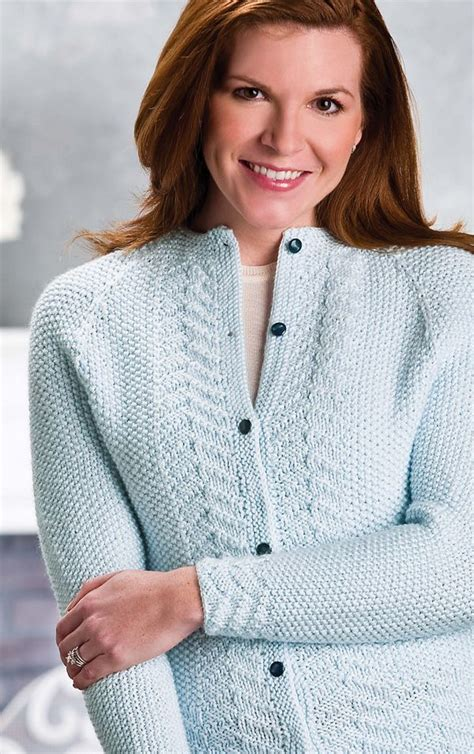 knitting pattern sweater cardigan cables worsted buttons 17 best images about cardigan knitting patterns on
