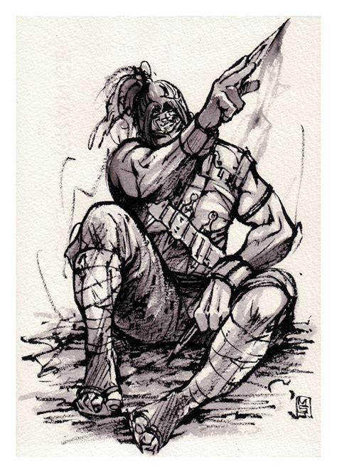 sketchbook ink ink sketch by mycks on deviantart