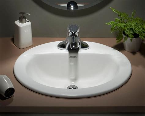 glacier bay drop in bathroom sink bathroom sinks blanco kindred kohler more the home