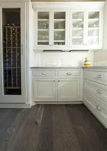 Gray Kitchen Floor Ideas Kitchen Pantry Organization Ideas Kitchen butler s pantry grey floor white oak traditional