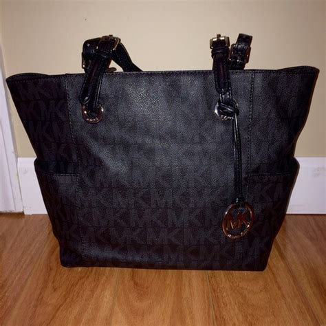 Mk New Tote Set 8880 michael kors purses black tote www pixshark images
