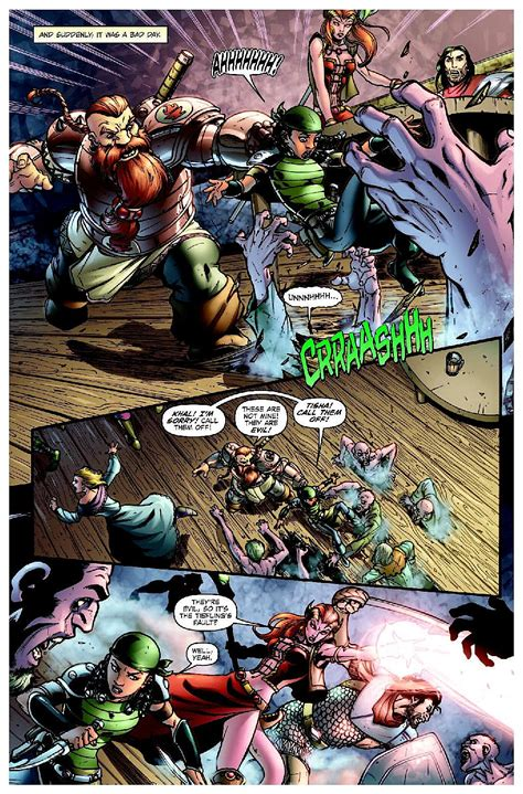 dungeons and dragons comic pictures idw s dungeons dragons will make you save versus awesome