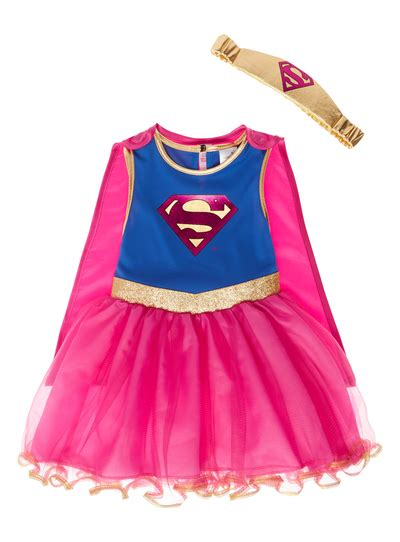 St Kid Samka Pink all s clothing pink supergirl costume 2 10 years tu clothing