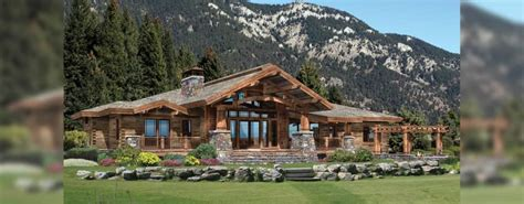 craftsman cabin history and exles of craftsman arts crafts style log homes the log home guide
