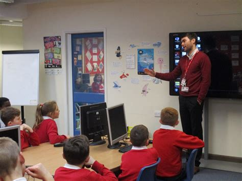 stanion c of e primary school year 1 and 2 classroom stanion c of e primary school e safety workshops