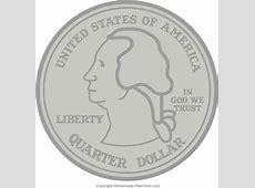 Free Patriotic Clipart Quarter Clipart