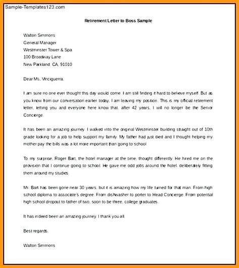 police retirement letter sample resignation letter