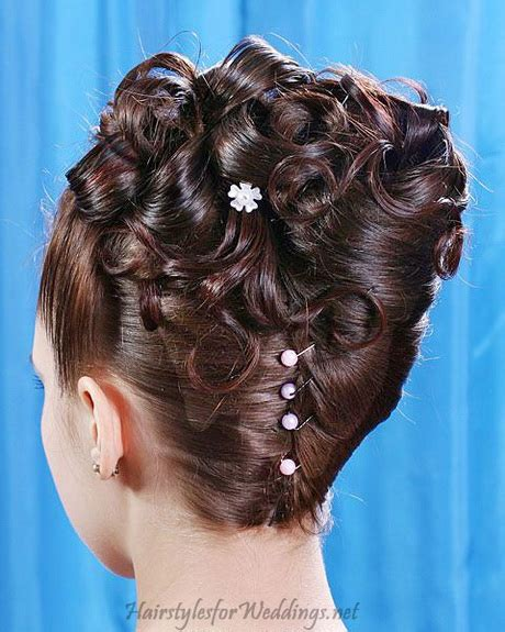 medium long hair wedding hairstyle updo for prom wedding updo hairstyles for long hair
