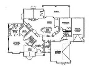 walk out basement floor plans rambler floor plans walkout basement by builderhouseplans