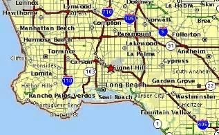 long beach, california map