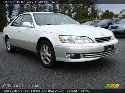 lexus sedan 2000 white 2000 lexus es 300 sedan ivory interior