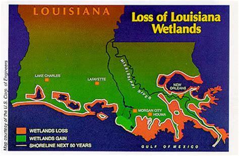 louisiana coastal erosion map the pondering american the national problem of louisiana
