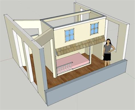 Half Bunk Bed Bunk Beds Thinking Outside The Box Divide A Room In Half With A Floor To Ceiling Bunk
