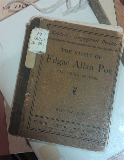 edgar allan poe picture book avak9 the literary archive