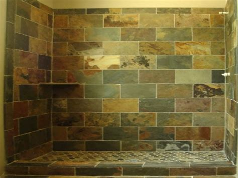 slate tile bathroom shower bathroom design ideas and more