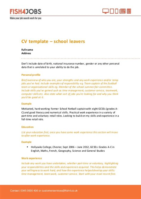 best solutions of cover letter for school leavers example fancy how