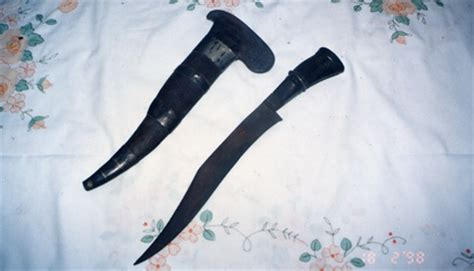 Pisau Tumbuk Lada senjata senjata tradisional melayu jenis jenis keris