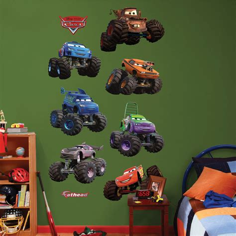 disney monster truck videos disney pixar cars monster trucks collection