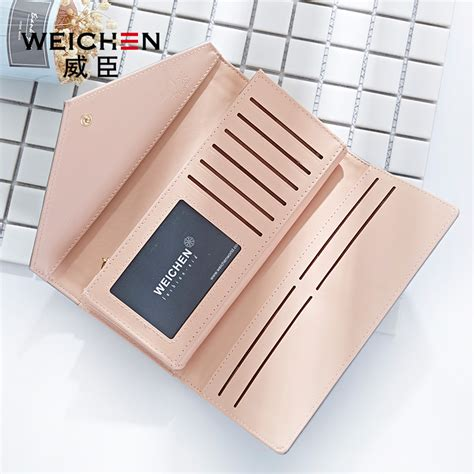 Blackkelly Dompet Clutch Wanita Coklat 1 dompet wanita clutch geometric zipper coin wallet pink