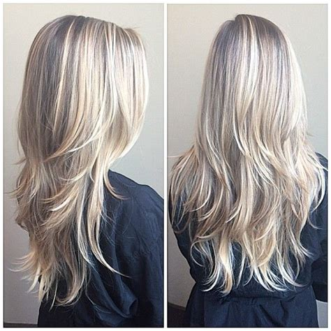 long hairstyles with rounded back 25 best ideas about blonde layered hair on pinterest