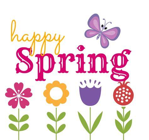 happy spring clip art 104639