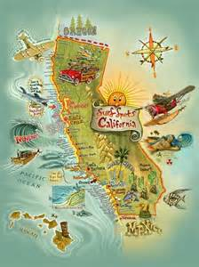 southern california surf map map of california surf spots um awesome
