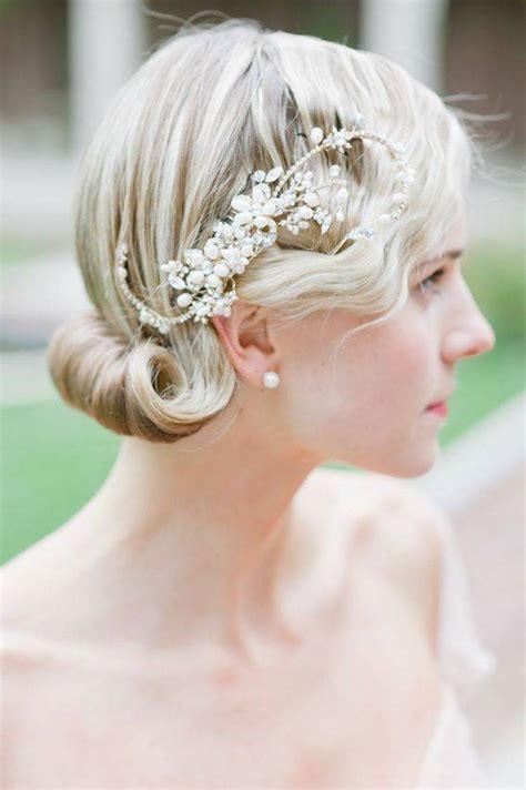 Wedding Hairstyles For Medium Length Hair Thats Covers Ears   свадебные прически на средние волосы 25 фото подбор