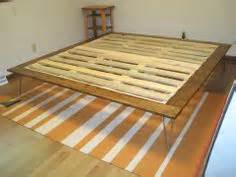Diy Traditional Platform Bed With Hairpin Legs The World S Catalog Of Ideas
