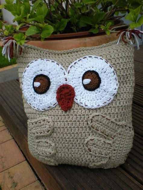 free pattern owl cushion owl pillow cushion crochet pattern