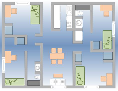 panther hall floor plan university apartments cus services student affairs