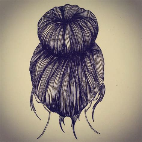 how to make a donut with block braids sock bun drawing google search arte pinterest sock