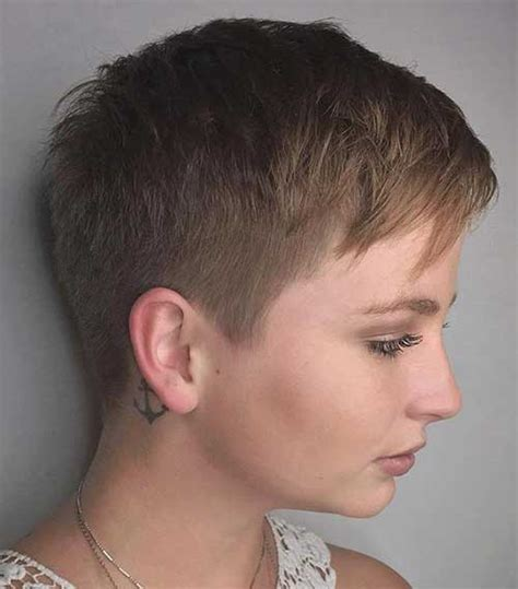 Pretty Super Short Haircut Ideas   The Best Short