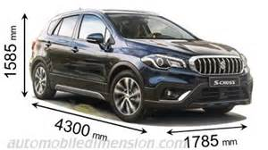 Suzuki Measurements Suzuki S Cross 2016 Dimensions Boot Space And Interior