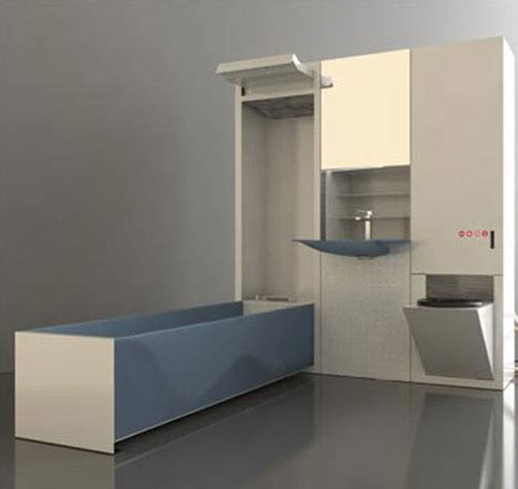 space saving bathroom small bathroom big idea space saving fold out fixtures