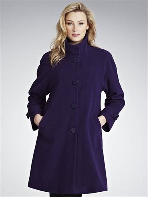 jane swing john lewis women jane swing coat purple in purple lyst