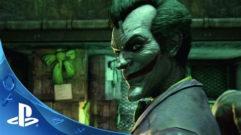 Ps4 Batman Return To Arkham Asylum batman return to arkham welcome to the madhouse trailer ps4